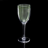 Insulated Double-Wall Thermal Wine Glass, 8 oz. - Green