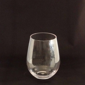 Flight Stemless Unbreakable Polycarbonate Plastic Wine Glass - 14 Oz.