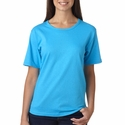 Anvil Women's T-Shirt: 100% Cotton Scoop Neck (641)