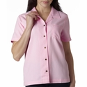 UltraClub Women's Camp Shirt: Cabana Breeze (8981)