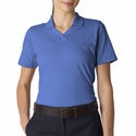 UltraClub Women's Polo Shirt: 100% Cotton Breeze Jersey Knit (8521)