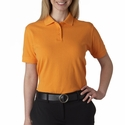 UltraClub Women's Polo Shirt: 100% Cotton Classic Pique (8530)