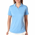 UltraClub Women's Polo Shirt: Cool-N-Dry Sport Performance Interlock (8425L)