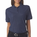 UltraClub Women's Polo Shirt: Whisper Pique (8541)