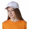 UltraClub Youth Cap: 100% Cotton Classic Cut Twill (8122)