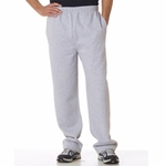 Badger Sport Men's Sweatpants: Fleece Open Bottom (1277)