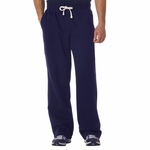 Weatherproof Men's Sweatpants: Cross Weave Open Bottom (7766)