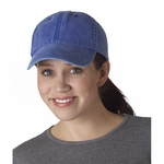 UltraClub Cap: 100% Cotton Classic Cut Solid-Color Pigment-Dyed (8140)
