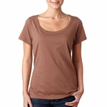 Anvil Women's T-Shirt: 100% Cotton Sheer Scoop Neck (391A)