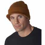 UltraClub Beanie: Knit Cap with Lid (8133)