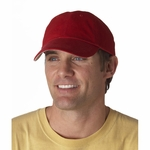 Anvil Cap: 100% Cotton Washed Brushed Twill 6-Panel Low-Profile (176)