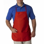 UltraClub Apron: Large Two-Pocket Bib (8201)