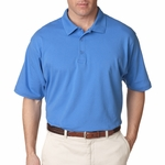 UltraClub Men's Polo Shirt: 100% Cotton Breeze Jersey Knit (8520)