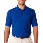 UltraClub Men's Polo Shirt: 100% Cotton Luxury Double Pique (8590)