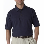 UltraClub Men's Polo Shirt: 100% Cotton Tall Classic Pique (8535T)