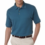 UltraClub Men's Polo Shirt: 100% Egyptian Cotton Interlock (8505)