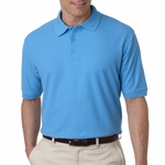 UltraClub Men's Polo Shirt: 100% Egyptian Cotton Pima Solid (8525)