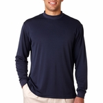 adidas Men's Mock Turtleneck: ClimaLite Tech Long-Sleeve (A104)
