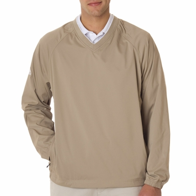 adidas Men's Windshirt: ClimaProof V-Neck (A47)