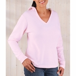 LAT Sportswear Women's T-Shirt: Long-Sleeve Hooded Thermal (3768)