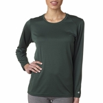 Badger Sport Women's T-Shirt: B-Dry Core Long-Sleeve (4164)