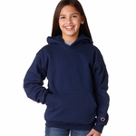 Champion Youth Sweatshirt: 9 oz. 50/50 Hood (CY40C)