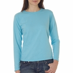 Comfort Colors Women's T-Shirt: 100% Cotton Long-Sleeve (C3014)