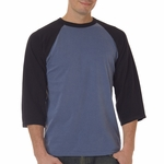 Comfort Colors Men's T-Shirt: 100% Cotton Raglan Sleeve (7066)