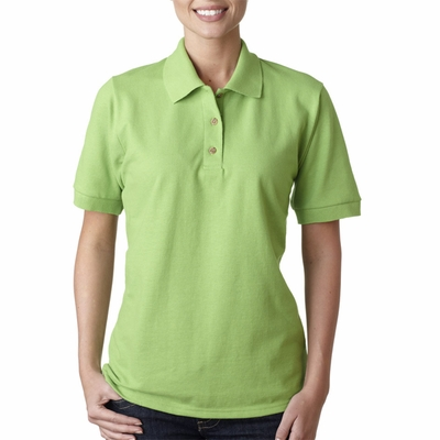 Gildan Women's Polo Shirt: 100% Cotton Ultra Ringspun Pique (G380L)