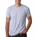 Next Level Men's T-Shirt: 100% Cotton Fitted Short-Sleeve Crewneck (3600)
