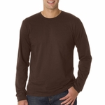 Anvil Men's T-Shirt: 100% Organic Cotton Long-Sleeve (429)