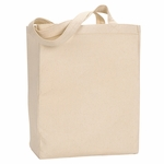 UltraClub Tote Bag: 100% Cotton Canvas with Gusset (8861)