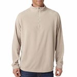 Dri-Duck Men's Jacket: Nano Quarter-Zip Element Fleece (7396)