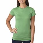 LAT Sportswear Women's T-Shirt: 100% Cotton Ringspun Longer Length (3616)