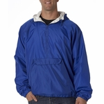 UltraClub Men's Jacket: Athletic Pullover (8914)