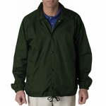 UltraClub Men's Jacket: Nylon Coach's (8944)