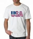 Bayside 100 % Cotton Made in USA T-Shirt