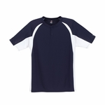 Badger Sport Men's T-Shirt: Hook Placket (7938)