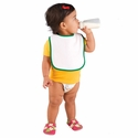 Rabbit Skins Infant Bib: 100% Cotton Snap (RS1003)