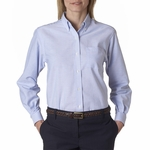 Van Heusen Women's Oxford Shirt: Classic Long-Sleeve (58800)