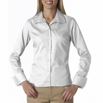 UltraClub Women's Twill Shirt: Whisper Elite (8992)