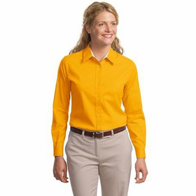Port Authority Women's Dress Shirt: Long Sleeve Easy Care Woven (L608)