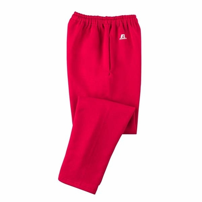 Russell Athletic Men�s Sweatpants: 50/50 Dri-Power Open-Bottom Fleece with Pockets (596HBM)