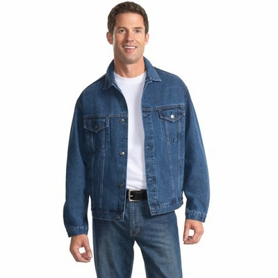 Port Authority Men's Jacket: Authentic Denim (J762)