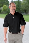 Devon & Jones Men's Polo Shirt: 100% Pima Cotton Tipped Perfect Interlock (D140)