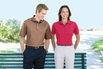 Devon & Jones Men's Polo Shirt: 100% Pima Cotton Executive Club (D440)