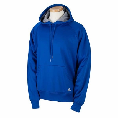 Russell Athletic Men's Sweatshirt: 100% Polyester Tech Fleece Pullover Raglan Hoodie (854EFM)