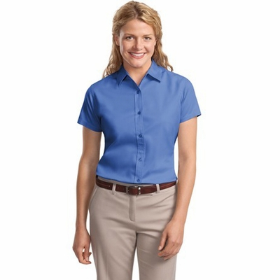 Port Authority Women's T-Shirt: Easy Care Short Sleeve (L508)