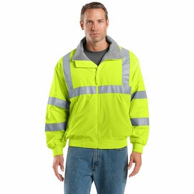 Port Authority Men's Safety Jacket: Challenger with Reflective Taping (SRJ754)