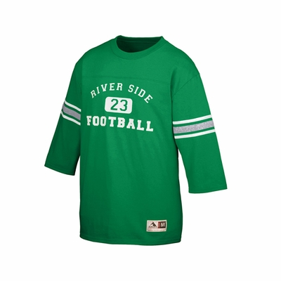 Augusta Sportswear Youth Football Jersey: 50/50 Old School Contrast Stripes (677)